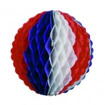 Boule Papier Tricolore