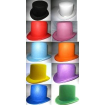 Chapeau Haut de Forme 10 Coloris au Choix
