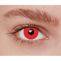 Paire de Lentilles de Contact Rouges
