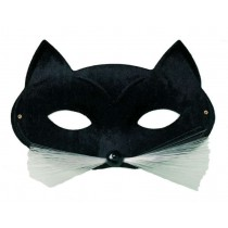 Loup Chat Noir / Masque Chat