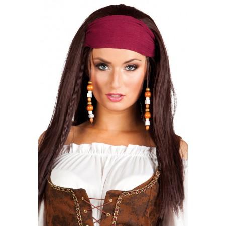 maquillage femme pirate