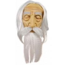 Masque Merlin / Druide Latex Luxe