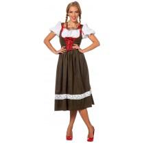 Déguisement Bavaroise Luxe / Tyrolienne / Autrichienne