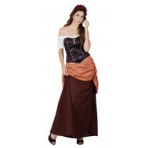 Déguisement Gauloise Femme / Servante Médiévale