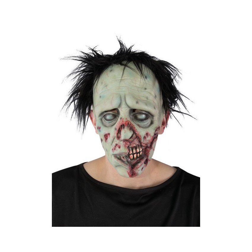 masque souple zombie cheveux. Black Bedroom Furniture Sets. Home Design Ideas