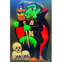 PROMO Panneau Vampire Halloween