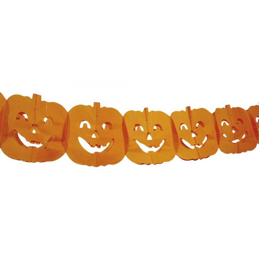 Guirlande citrouille halloween - Guirlande halloween a imprimer ...