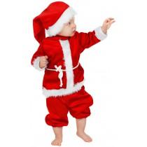 Déguisement Père Noël Luxe Enfant : de 9 mois à 3 ans