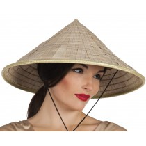 Chapeau Chinois Paille Luxe