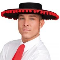 Chapeau Espagnol Pompoms