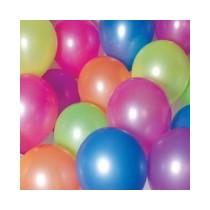 Lot de 10 Ballons Fluo