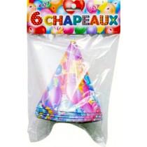 6 Chapeaux Anniversaire