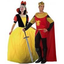 Déguisement Roi + Déguisement Princesse de Conte