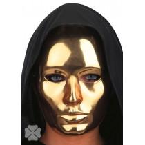 Masque Plastique Or