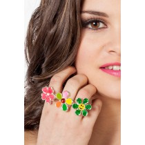 Bague Hippie / Flower Power