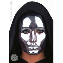Masque Plastique Argent