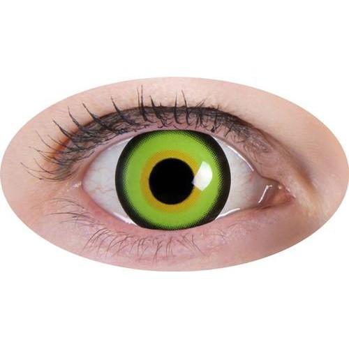 Paire de lentilles de contact chapelier fou - Maquillage chapelier fou ...