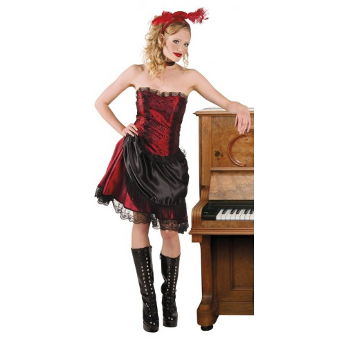 Déguisement Saloon Girl / Cabaret / French Cancan