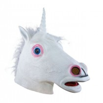 Masque Licorne Latex Luxe