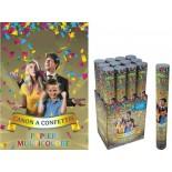 Grand Canon à Confettis Multicolores 40 cm