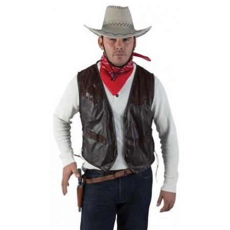 D 233 Guisement Gilet Cowboy Western