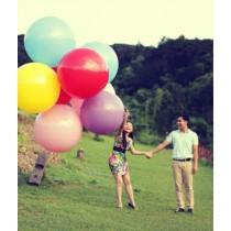 Ballon Géant Diamètre 1m Blanc