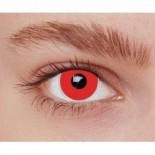 PROMO Paire de Lentilles de Contact Rouges