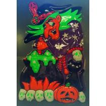 PROMO Panneau Sorcière Halloween