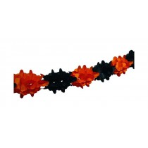 PROMO Guirlande Orange/Noire Halloween