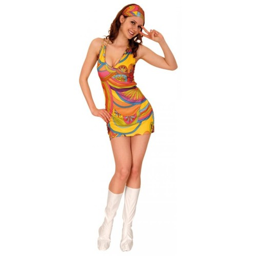 D guisement robe hippie - Pin up annee 40 ...