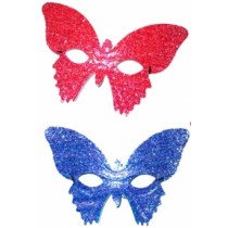 Loup Papillon Paillettes Unicolore