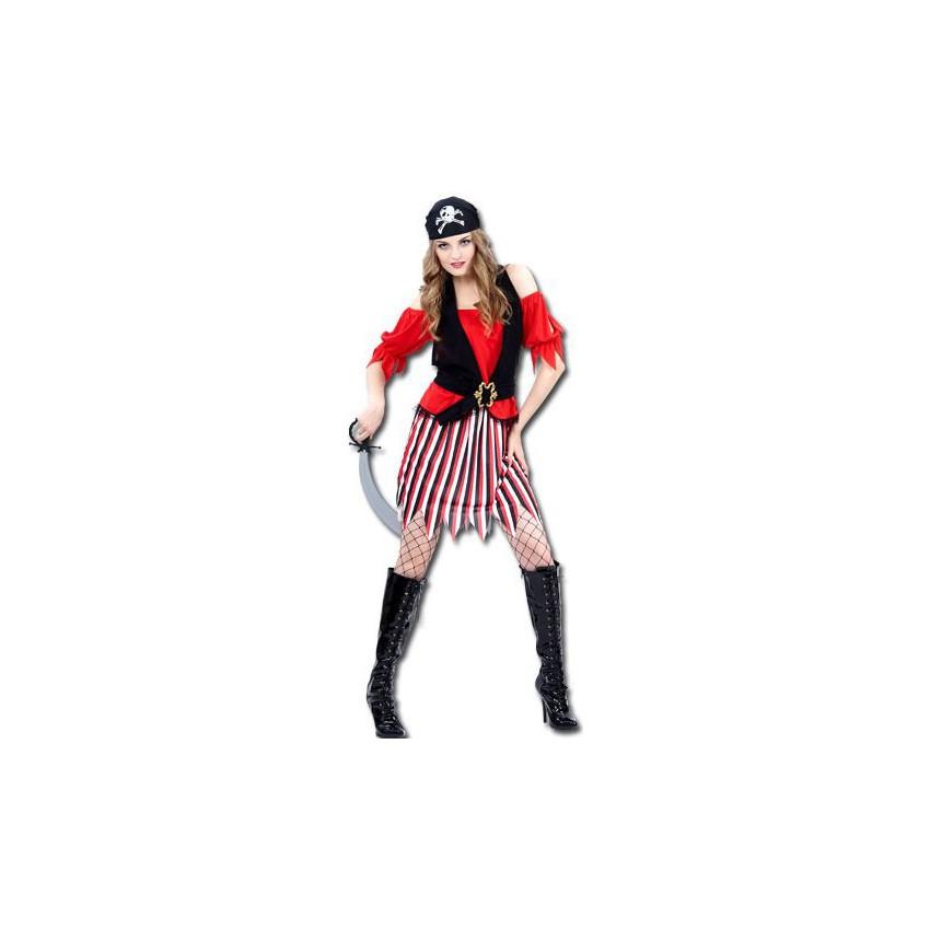 b3f884abbff7c Déguisements pirates pas chers - Costume corsaire