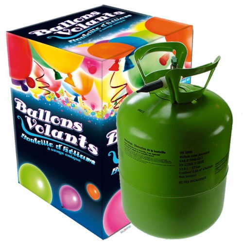 Kit Hélium avec Ballons et ficelles