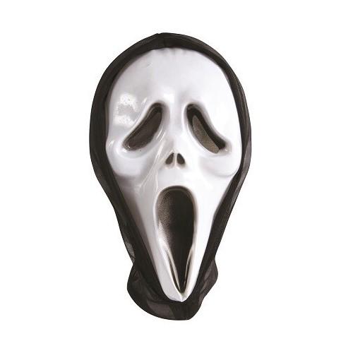 Masque Fantôme Scream avec Cagoule