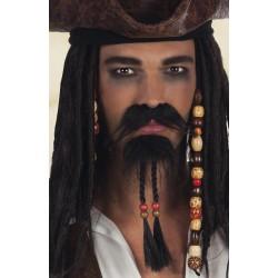 Moustache + Barbiche Pirate