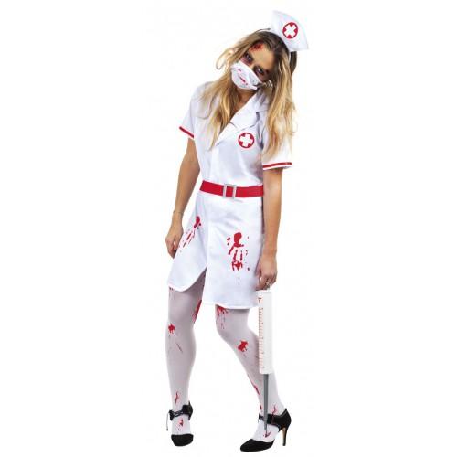 Déguisement Infirmière Sanglante / Zombie, Déguisements Adulte