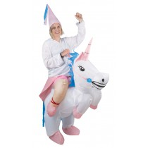 Déguisement Licorne Gonflable Luxe