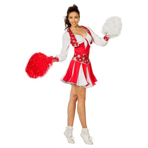 déguisement pompom girl luxe