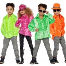 Déguisement Chemise Disco Enfant : de 6 ans à 12 ans