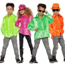 Déguisement Chemise Disco Enfant  de 6 ans à