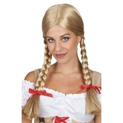 Perruque Tresses Blondes