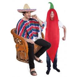 Déguisements Mexicain + Déguisement Piment