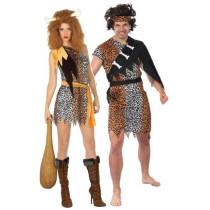 Déguisements des Cavernes Homme + Femme