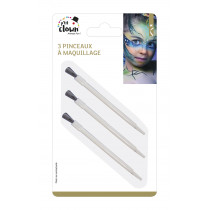 Lot 3 Pinceaux Maquillage