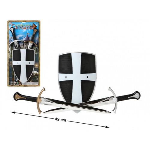 Bouclier Chevalier + Epées