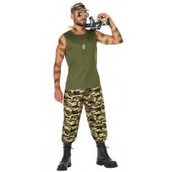 Déguisement Militaire / Rambo / Guerrier