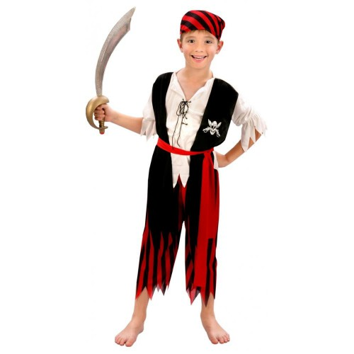Déguisement Pirate Enfant : de 4 ans à 12 ans, Déguisements Enfant