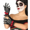 Gants Squelette Day of the Dead