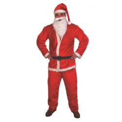 Costume Père Noël Velours