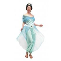 Déguisement Princesse Orientale Bleue